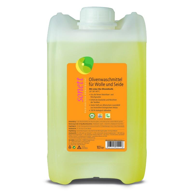 Olivno pralno sredstvo za volno in svilo
