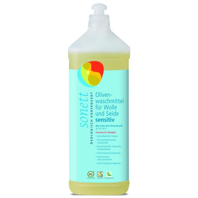 Olivno tekoče pralno sredstvo Sensitiv