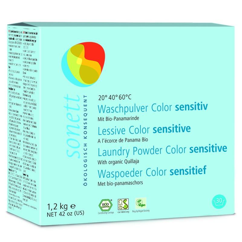 Pralno sredstvo v prahu color Sensitiv