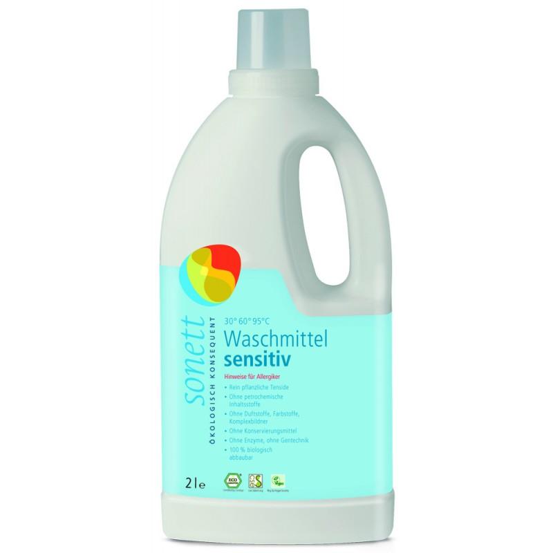 Tekoče pralno sredstvo Sensitiv – primerno za alergike